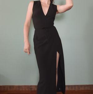 Long Wrap Dress or Cape Vest